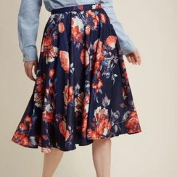 d3ee19f8b9c6 Modcloth Skirts | Gorgeous Myrtlewood Skirt | Poshmark